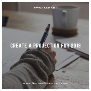 Accounting and bookkeeping projection for 2018 photo