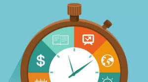 Business money and time tracking