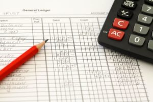 Preparing financial statements on general ledger